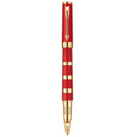 Ручка роллер Parker Ingenuity Red Rubber & Metal GT 5TH 90 652Р
