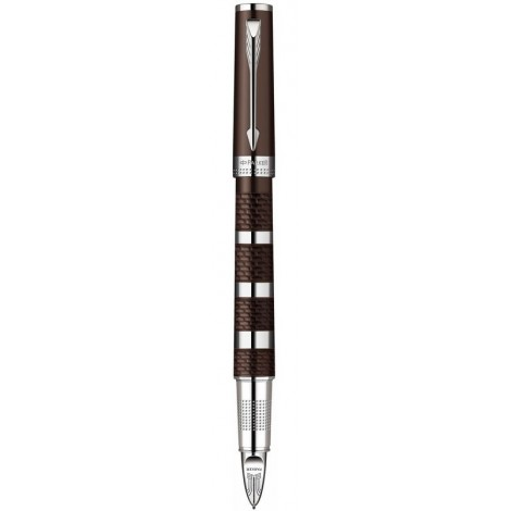 Ручка роллер Parker Ingenuity Brown Rubber & Metal CT RF 90 652K