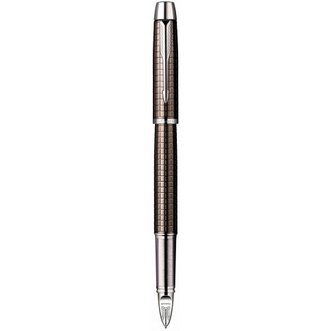Ручка роллер Parker IM Premium Dark Gun Metal Chiselled 5TH 20 452D