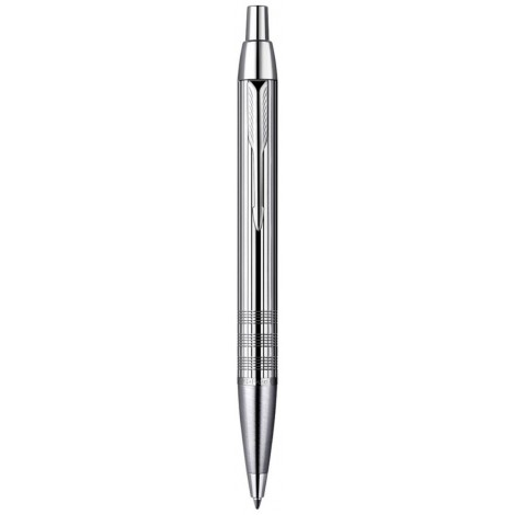 Шариковая ручка Parker IM Premium Shiny Chrome Chiselled BP 20 432C