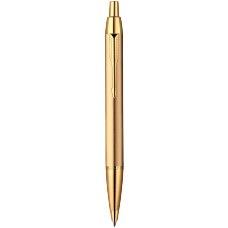 Шариковая ручка Parker IM Brushed Metal Gold GT BP 20 332G