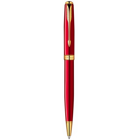 Шариковая ручка Parker Sonnet Laque Ruby Red GT BP 85 932R