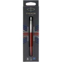 Ручка шариковая Parker JOTTER 17  Kensington Red CT  BP в подар.уп. LONDON 16 432bL