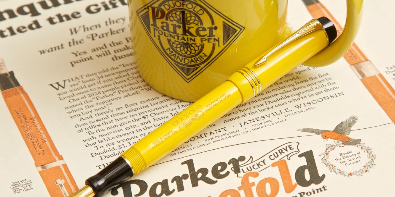 Duofold Mandarin Yellow Limited Edition